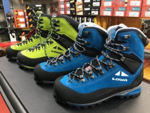 ローバー冬登山靴アルパインエキスパートの画像